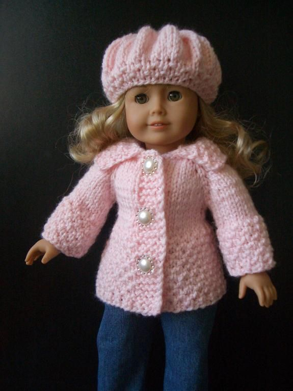 Doll Clothes Very Easy Knitting Pattern Easy Knitting Knit