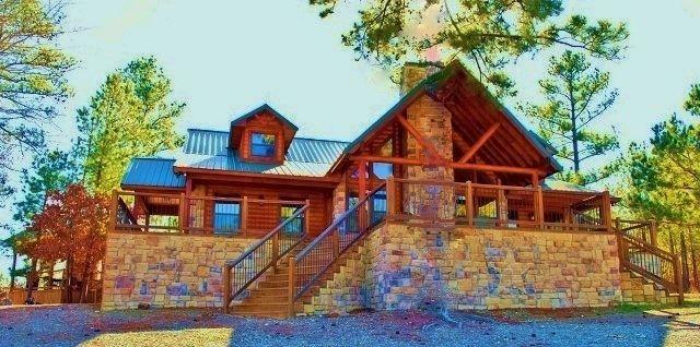 Higher Ground Broken Bow Cabin Lodging Cabin Log Home Designs Luxury Cabin
