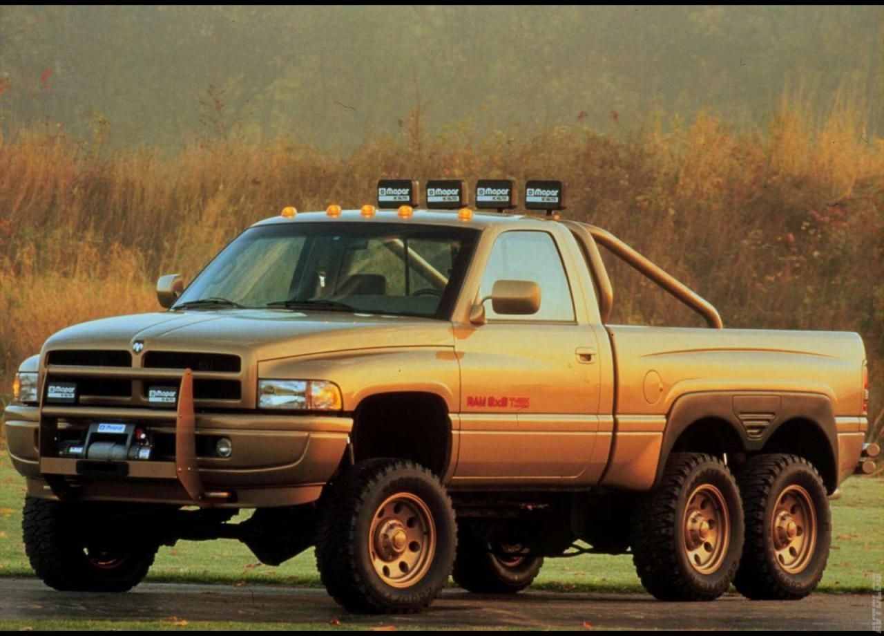 1997 dodge ram t rex concept 6x6 in the world by www 01a