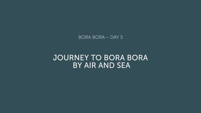 Travel with us to the French Polynesian paradise of Bora Bora.Ia Orana(yo-rah-nah)! #bestofcity