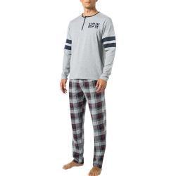 Photo of Men's jockey sleep suit, cotton, gray jockey