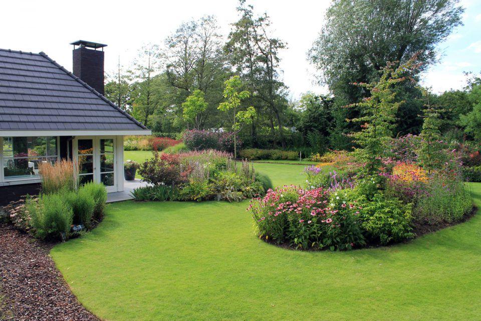 Luxe tuinontwerp met gras tuin ideeën tuin ontwerp luxury