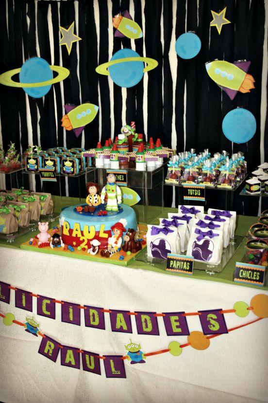 Buzz Light Year Toy Story Cumple Raúl Fiestas Infantiles