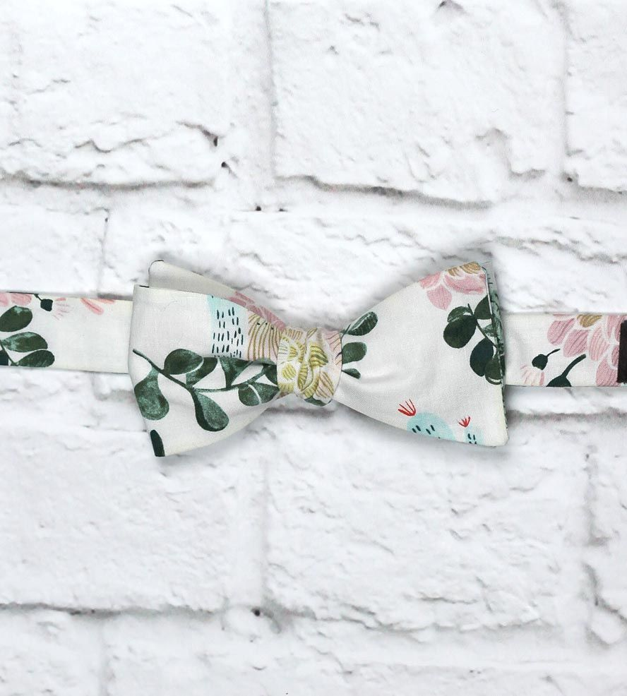 Desert Floral Bow Tie by Neck & Tie Company on Scoutmob