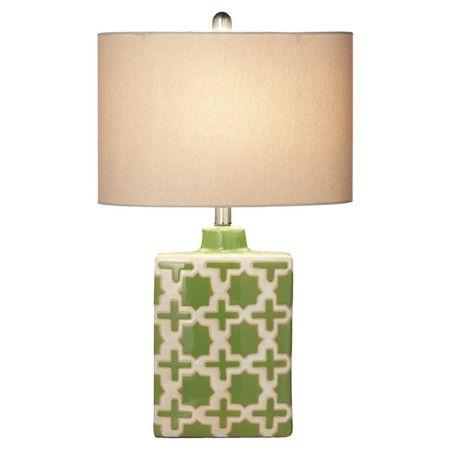 Thelma Table Lamp in Green at Joss & Main