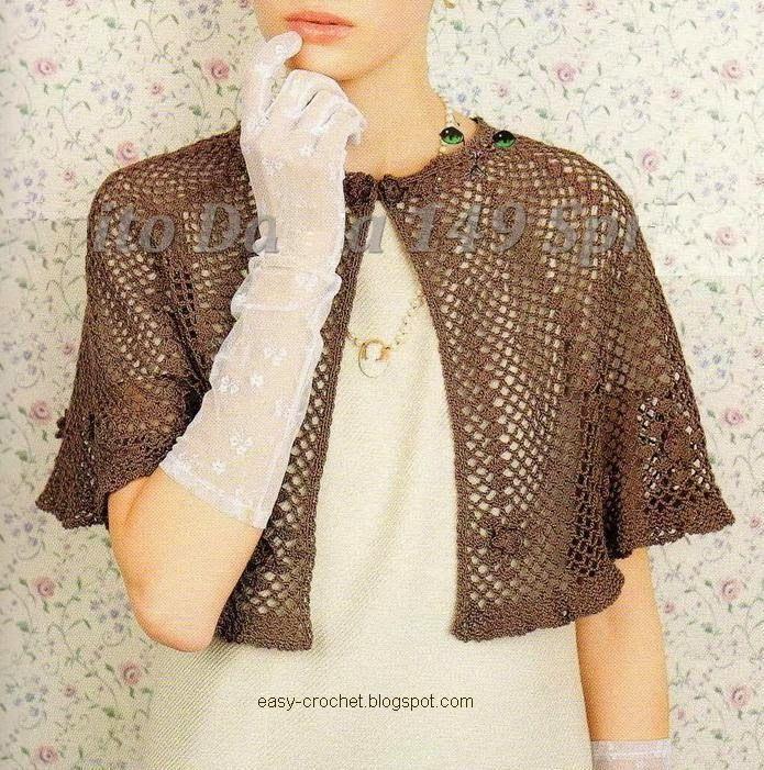 Stylish Easy Crochet: Cape | Crochet Projects to Try | Pinterest