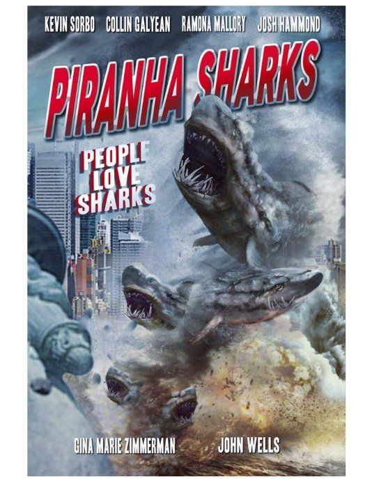 Piranha Sharks (2016) Movie | Movies I enjoy watching ad tv shows