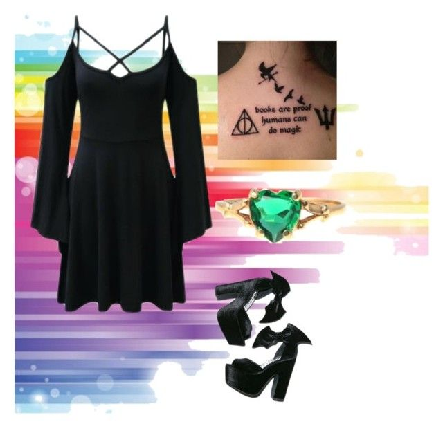 """Untitled #612"" by phoenix-1117-fashion ❤ liked on Polyvore featuring Killstar"