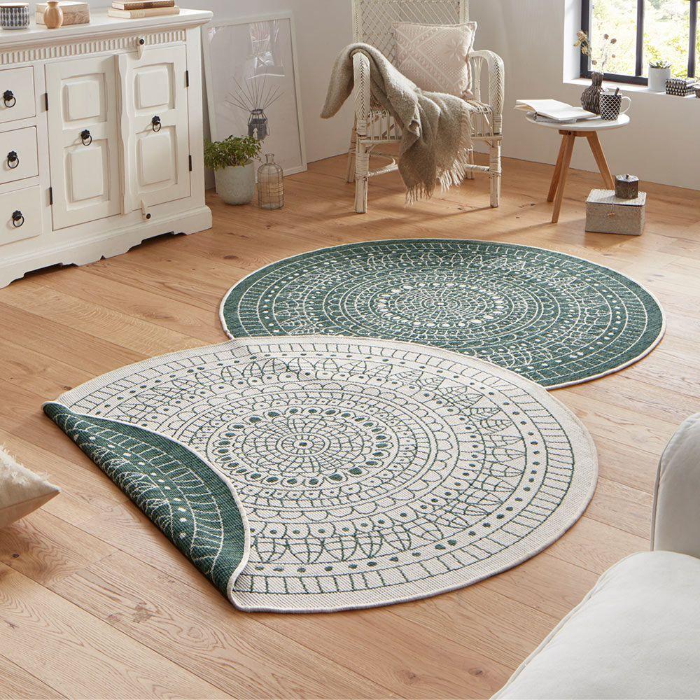 Nett Teppich Rund Grun Teppich Grun Teppich Teppich Design