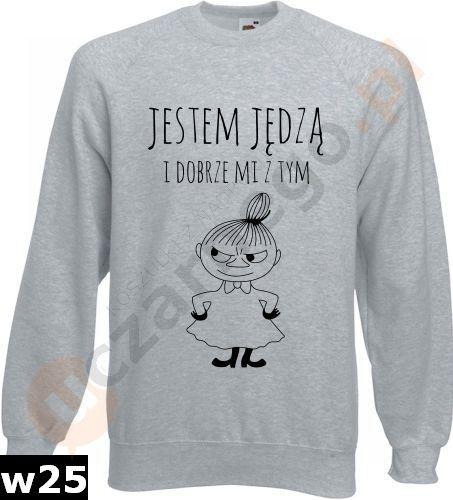 c2bffd5d9f8f6a Bluza Mała Mi: Jestem jędzą i dobrze mi z tym w uczarnego.pl na DaWanda.com