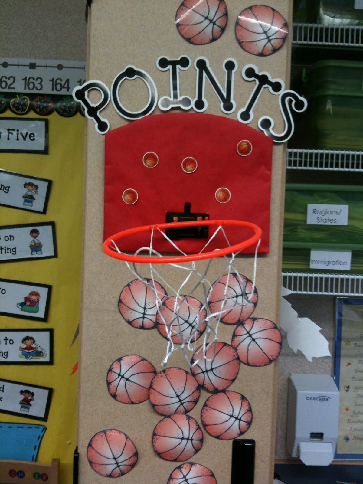Classroom Management whole class points system