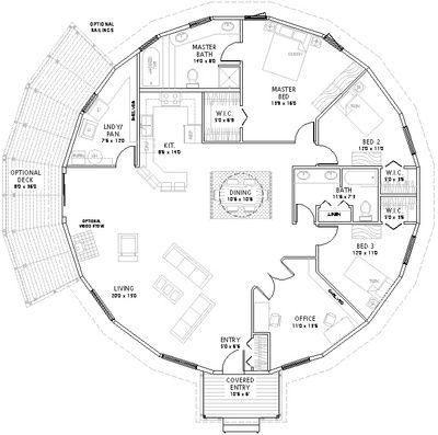 Dream Floor Plan Home Yurt Fun Pinterest Round House Plans Yurt Home House Floor Plans