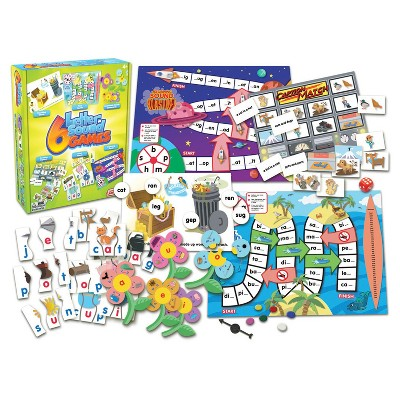 Junior Learning® Letter Sound Games 6ct | Homeschooling
