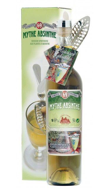 Mythe Absinthe avec cuillère - 50cl - 69% d'alcool