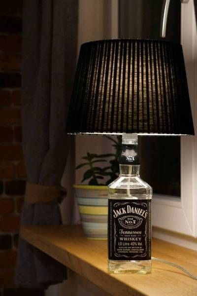 jack daniels tisch lampe jack daniels tisch lampe leuchte. Black Bedroom Furniture Sets. Home Design Ideas