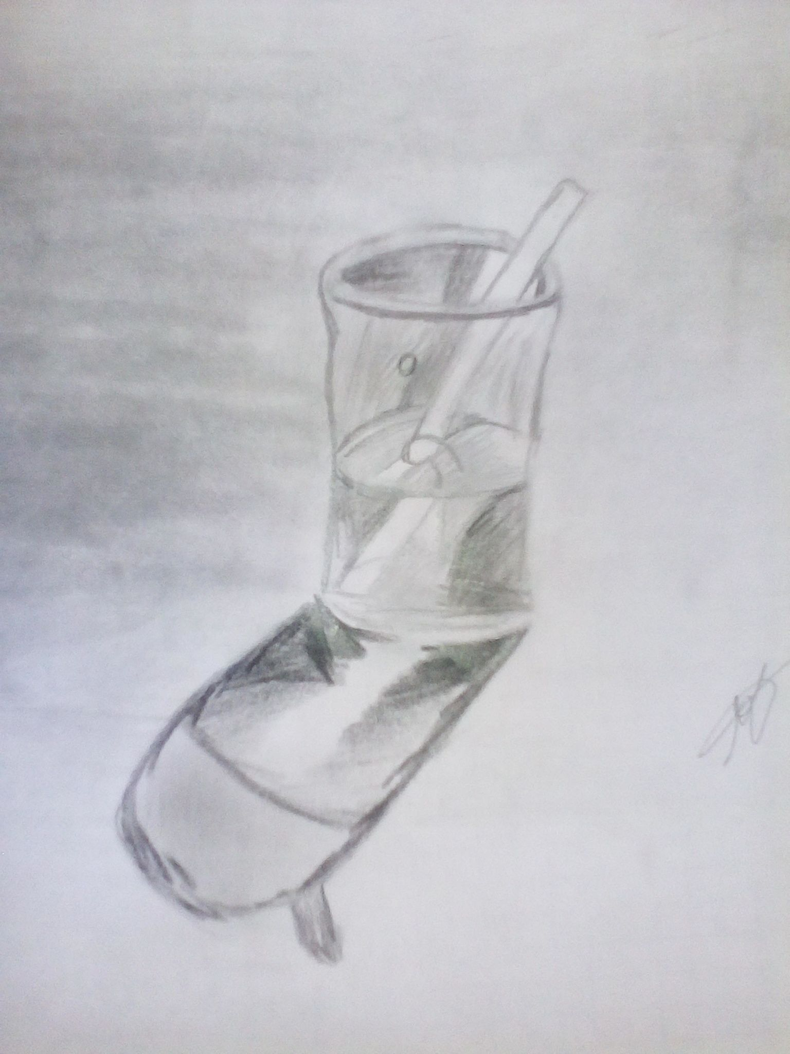 Dibujo De Un Vaso De Agua A Lapiz En 2020 Dibujos 3d Dibujos A Lapiz Dibujos