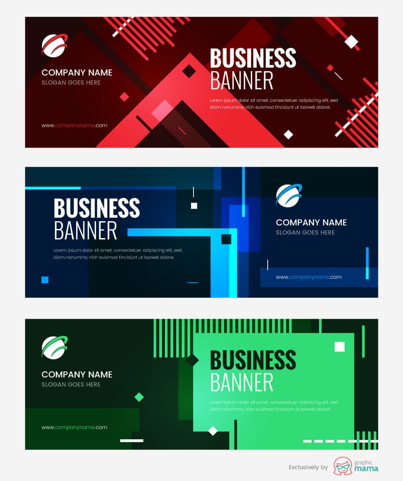 21 Free Banner Templates For Photoshop And Illustrator Banner Template Free Banner Templates Banner