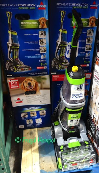 bissell proheat 2x revolution pet deluxe carpet cleaner costco
