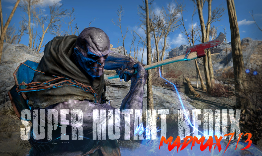 Super Mutant Redux v1 1 at Fallout 4 Nexus - Mods and