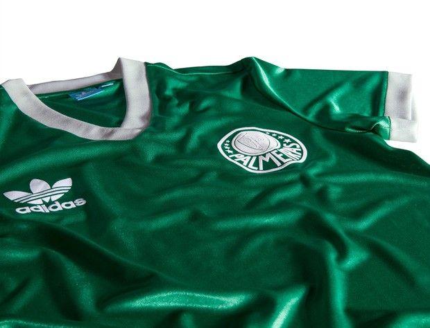 Foto da nova camisa do Palmeiras : futebol