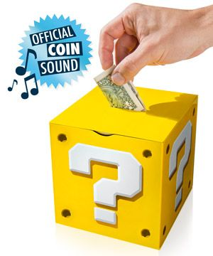Super Mario Question Block Money Box | Gifts For Kids
