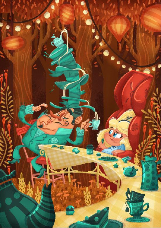 Mad Tea Party on Behance