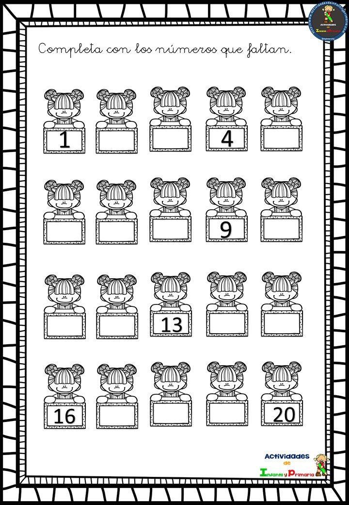 Series-numéricas-2.jpg (720×1040)   nesnelerle toplama   Pinterest ...