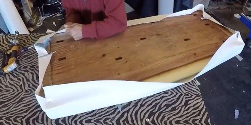 Reupholster Glider Rocker Diy