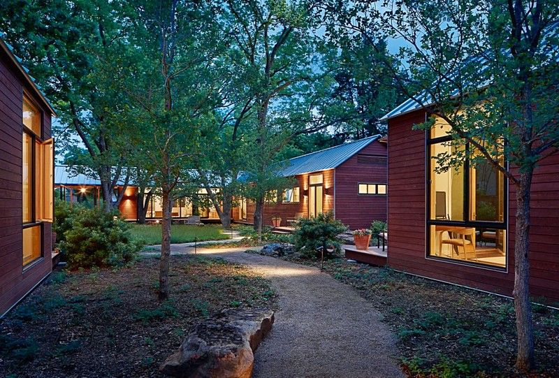 2001 Odyssey Porch House with Modular Design Lake flato