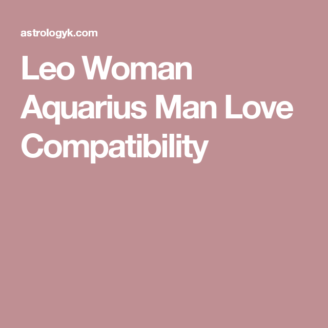 Do Scorpio and Aquarius Make a Good Match?
