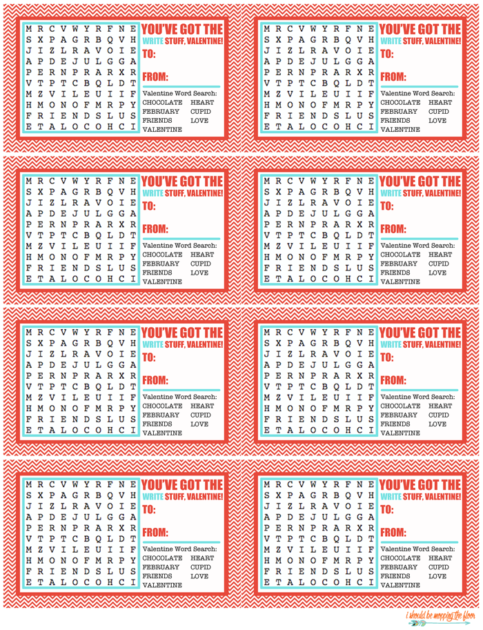 picture about Valentine Word Searches Printable referred to as Valentine Term Glimpse Printables Valentine 2 Valentines