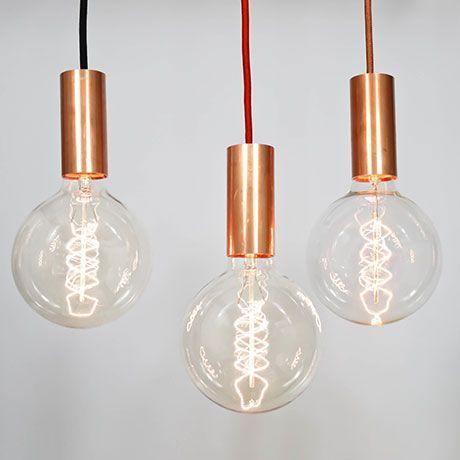 lichtdesign mit industriellem touch von nud light pinterest beleuchtung lampen und. Black Bedroom Furniture Sets. Home Design Ideas