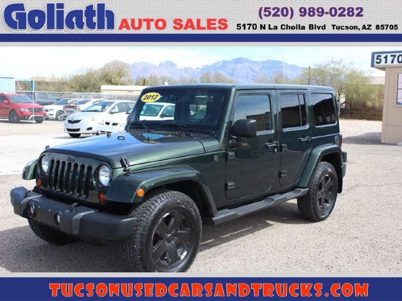2012 Jeep Wrangler Unlimi Sahara Goliath Auto Sales Llc Auto