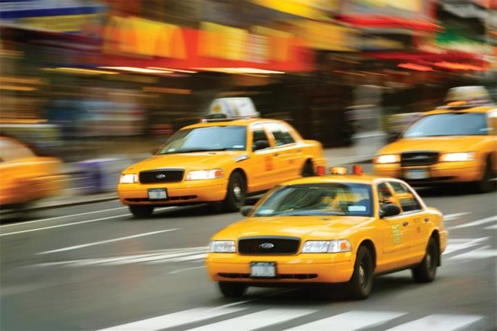 Pin by Jan Ovland on I like to pay homage to the Yellow taxis of the