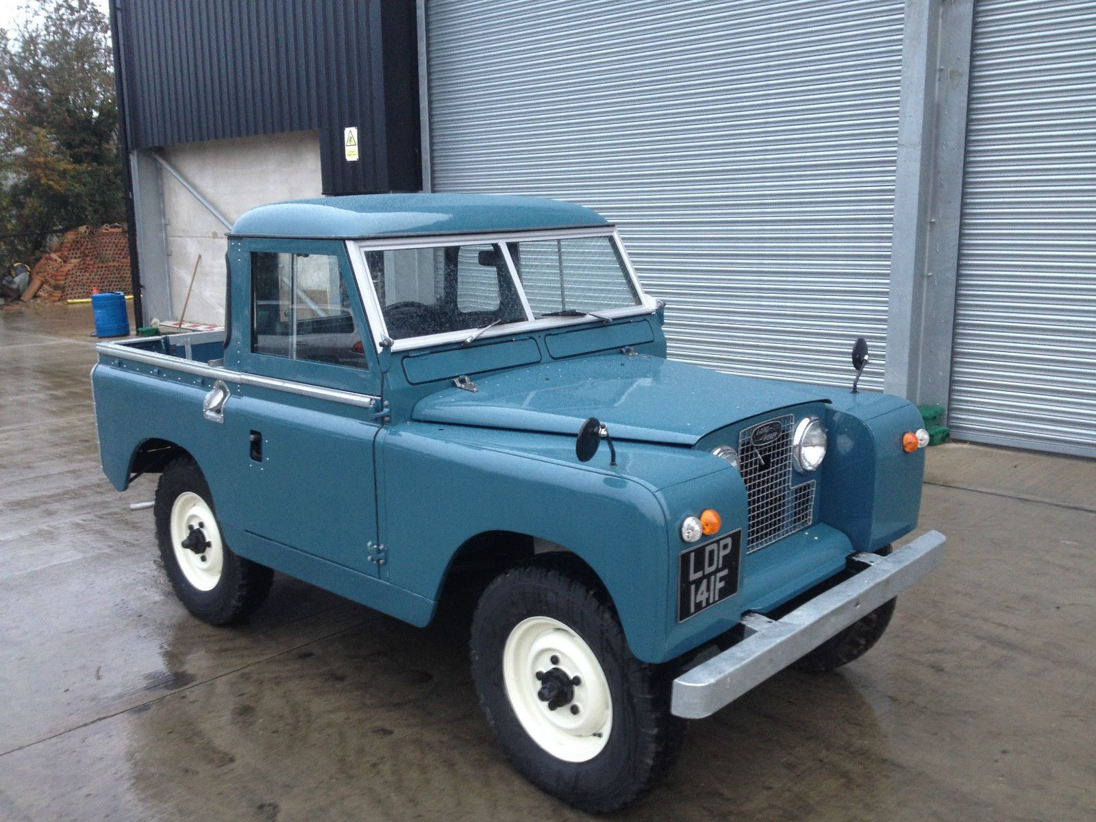 this is a land rover series 2 a 1967 truckcab marine blue no work needed starts and drives as. Black Bedroom Furniture Sets. Home Design Ideas