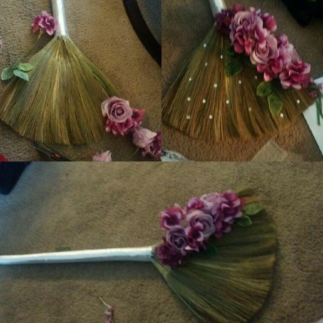 "Wedding Broom Ideas: My DIY Wedding Jumping Broom "" My Family And Friends"