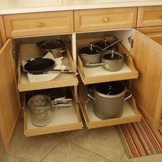 Rolling Shelves - DIY Pullout Shelf Kit 22