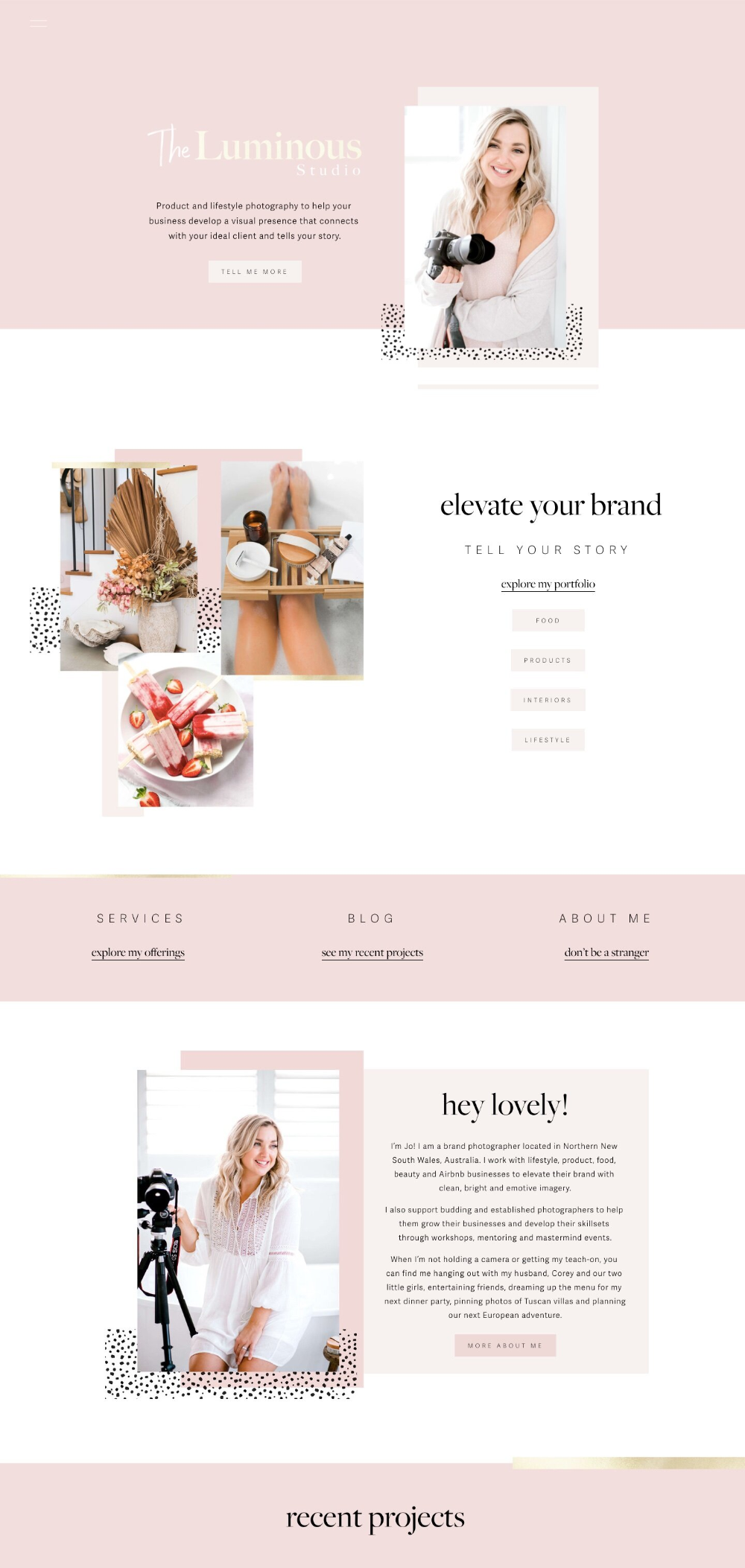 50 Example Squarespace Websites Built By Square Secrets Course Students Paige Brunton Squarespace Templates Squarespace Designer Courses In 2020 Squarespace Web Design Photography Website Design Squarespace Website