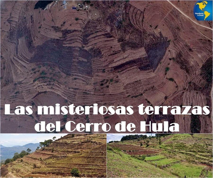 terrazas para cultivo construidas miles d años antes q vinieran los españoles,