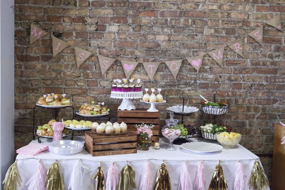 Vintage Shabby Chic Bridal Wedding Shower Party Ideas Photo 2 Of 16 Shabby Chic Bridal Shower Chic Bridal Showers Bridal Shower Rustic