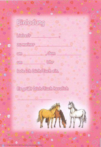 12 Einladungen Kindergeburtstag 12 Bedruckte Umschlaege, Einladung