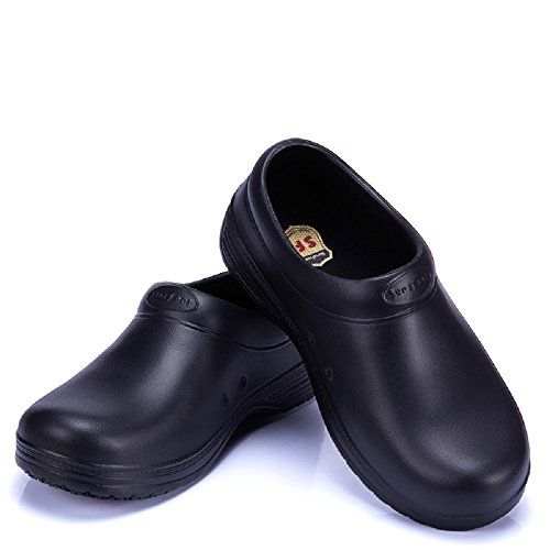 Men Chef Shoes Anti-slip Safety Cook Loafers Kitchen Water /& Oil Proof Slip-Ons