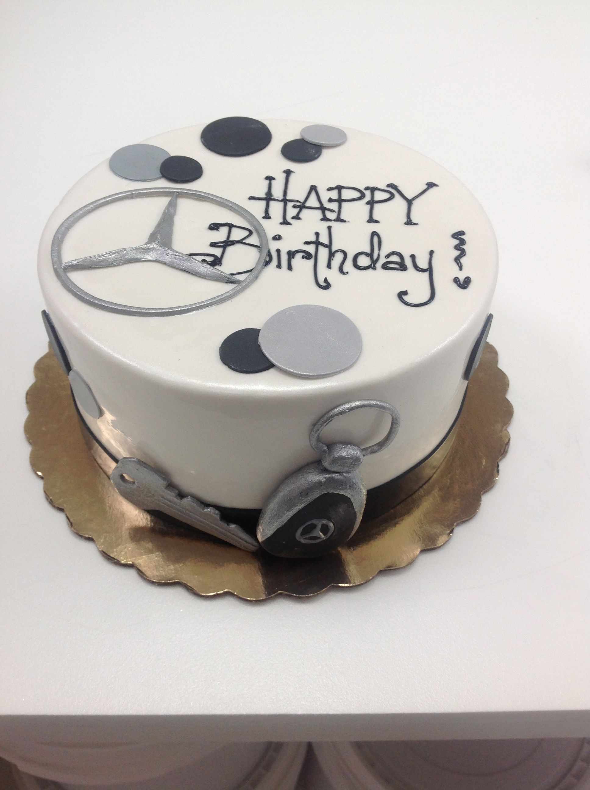 mercedes occasion cakes pinterest cake birthday