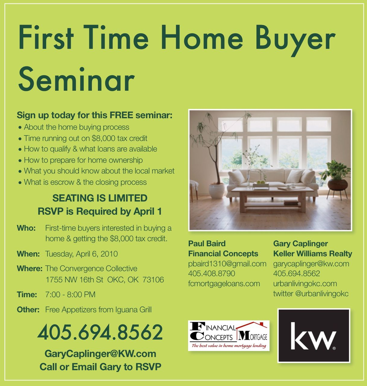 first time home buyer seminar FLYER - Yahoo Search Results Yahoo ...