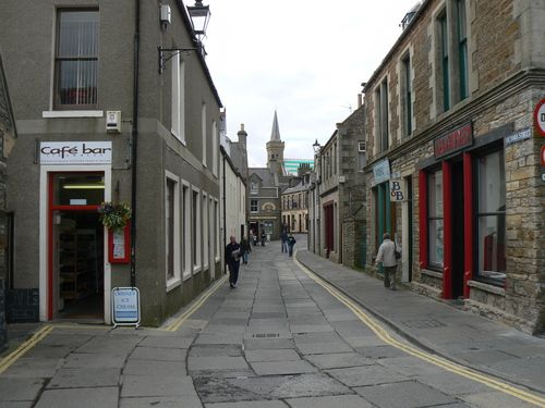 Stromness, Orkney  Been down this street.