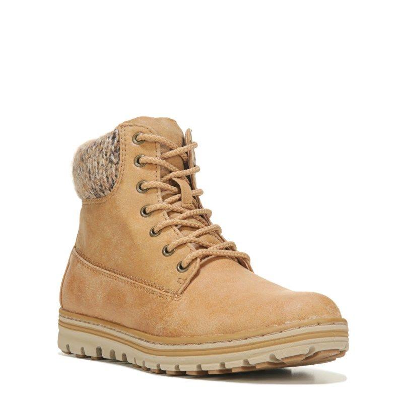 Kudrow Lace Up Boots (Wheat