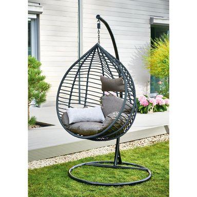 Fotel Wiszacy Luna Hustawki Ogrodowe W Atrakcyjnej Cenie W Sklepach Leroy Merlin Hanging Chair Decor Furniture