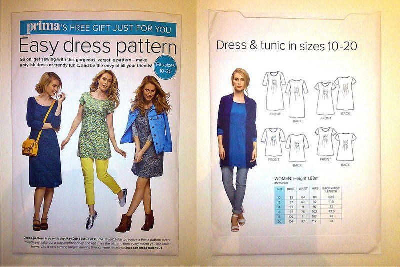 Prima Magazine - Pattern, May 2014 (06) | Wardrobe | Pinterest ...