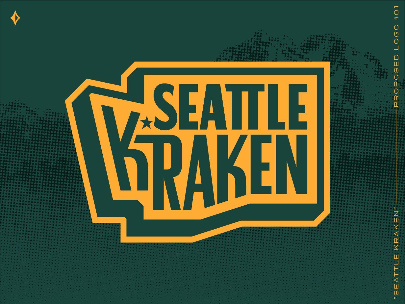 Seattle Kraken Proposed Mark 1 In 2020 Seattle Logo Seattle Kraken