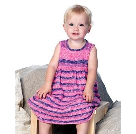 Kofta och ärmlös klänning i bomull   Ärmlös klänning